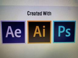 Vendo Photoshop Ilustrator Aftereffects