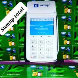 Máquina de  cartão de crédito , sumup total