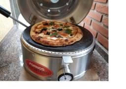 Forno Industrial De Pizza Baby Paulistano Residencial Broto + 2 Brindes