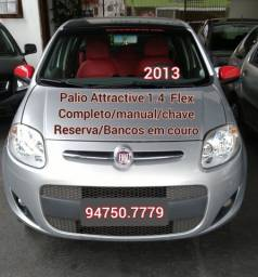 Palio Attractive 1.4 Flex 2013 completo
