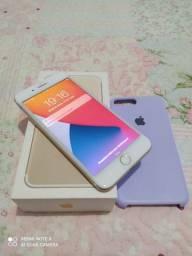 iPhone 7 Plus Gold 128gb todo original, pego aparelho inferior e volta em dinheiro