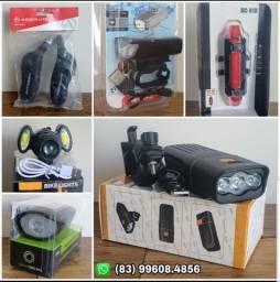 Lanternas e Faróis - Led para Bike