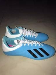 Chuteira Adidas X 19.4 IN Quadra