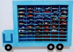 Caminhão Porta 60 Carrinhos com 46 Carrinhos Hot Wheels !!!