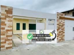 Casa nova, 3 dormitórios com closet, edícula , piscina , quintal, climatizada