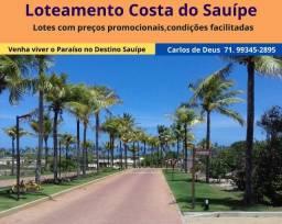 Imperdível: Reserva Sauipe,  lotes a partir de 450 m², um paraíso entre a Lagoa e o Mar