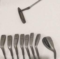 Bolsas e tacos para golfe