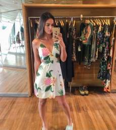 Vestido abacaxi farm