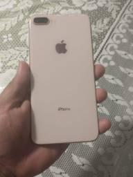 iPhone 8 Plus rose impecável
