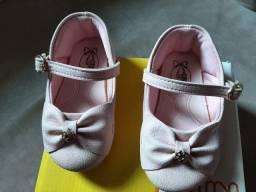 Sapatilha infantil menina, rosa, número 20
