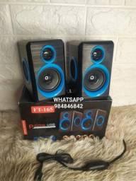 Caixa speaker som para Pc FT-165.(entrega grátis)