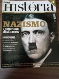 Revista BBC História com temas marcantes
