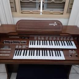 Órgão eletrônico harmonia hs 95 impecável