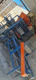 Maquina de blocos e misturador