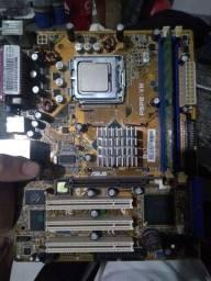 Kit 775 DDR 1 Asus