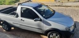 Carro Fiat Strada Prata 2010