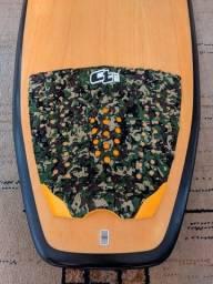 Prancha Surf Powerlight Fcs Tri Quad Deck Ctwax Camuflado Excelente estado