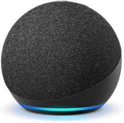 Smart Speaker Amazon Alexa Echo Dot 4 Geração . Preta
