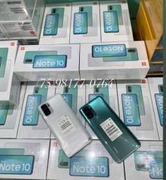 Xiaomi Note 10 64GB 4GB RAM BRANCO VERDE E CINZA LACRADOS