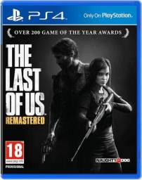 Jogo ps4 the last of ia