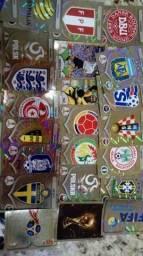Figurinhas douradas da Copa do Mundo 2018
