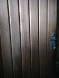 Porta Mexicana com batente de angelim de 17cm
