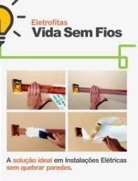 Eletrofita - Você instala tomadas sem quebrar parede