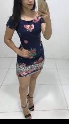 Vestido estampado Novo