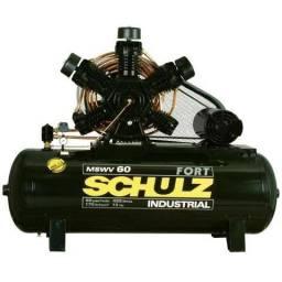 Compressor 60 pés Schulz novo