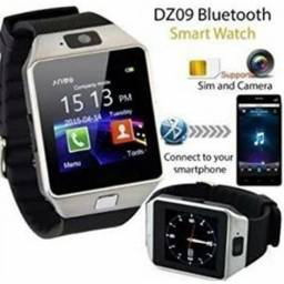 Relógio Smartwatch bluetooth Dz9 Android Ios Camera Sd Card Chip
