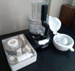 Multiprocessador Kitchenaid 3.1 litros com kit Espremedor de frutas 110 V - Super Novo