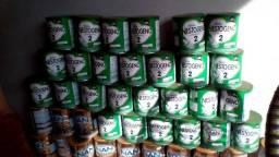 Doação lata de leite vazia para artesanato