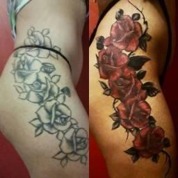 Curso de Tatuagem! Reformas e Coberturas!