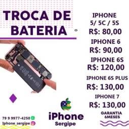 Troca de bateria , iphone