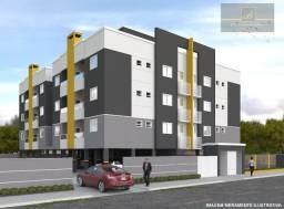 Apartamento com 2 dormitórios à venda, 63 m² por R$ 225.000 - Costa e Silva - Joinville/SC