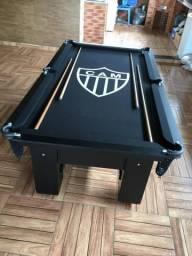 Mesa de Bilhar Atlético Mineiro Com Redes Modelo CAM1018