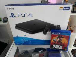 Ps4 slim 500gb + Red Dead 2
