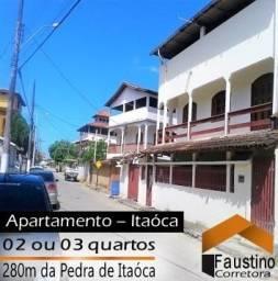 Apartamentos de 02 ou 03 quartos proximos à Pedra de Itaóca