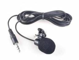 Microfone De Lapela x 12x R$ 5,99 x Entrega Grátis x Garantia 3 m x Novo x Lacrado