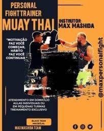 PERSONAL FIGHT TRAINER - INSTRUTOR MAX MASHIDA