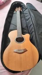 Viola  eletro acústica Giannini