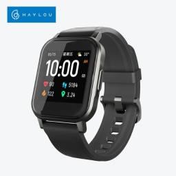 Smartwatch Haylou Ls02 Bluetooth Notificação fitness. Resistente a água