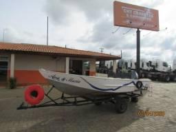 Barco Aluminio 6mts -motor Yamaha 25hp - xcxcarreta Documentada + Acessórios comprar usado  Itapetininga
