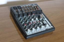 Mesa de Som Mixer Behringer Xenyx 1002fx - 10 Canais