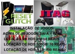 50 Jogsss RGH para Xbox360 com RGH