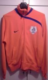Agasalho jaqueta oficial seleção holandesa de futebol