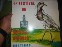 LP 1 Festival da Música crioula