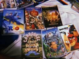 DVDs infantis diversos R$ 10,00 cada