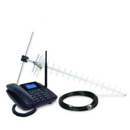 Telefone Celular Rural Com Antena Intelbrás +2 Chips Gratis