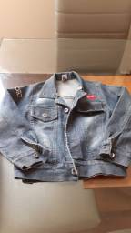 Vendo linda jaqueta jeans infantil Tam 06